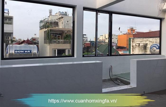 Cửa nhôm Xingfa vách kính cố định (cửa sổ)
