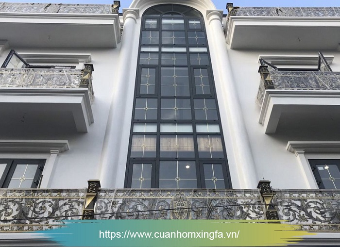 Cửa nhôm Xingfa thi công bởi Thủ Đô Group tại Từ Sơn, Bắc Ninh