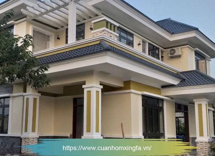 Cửa nhôm Xingfa thi công bởi Thủ Đô Group tại Nam Định