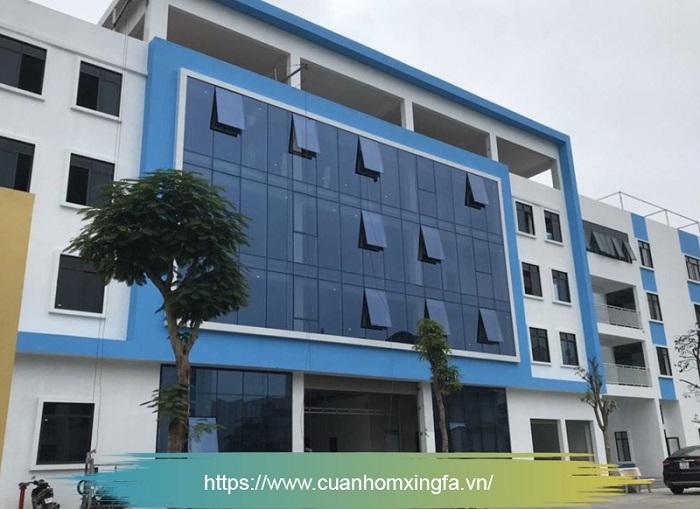 Cửa nhôm Xingfa thi công bởi Thủ Đô Group tại trường quốc tế KOALA, Trung Văn, Từ Liêm, Hà Nội